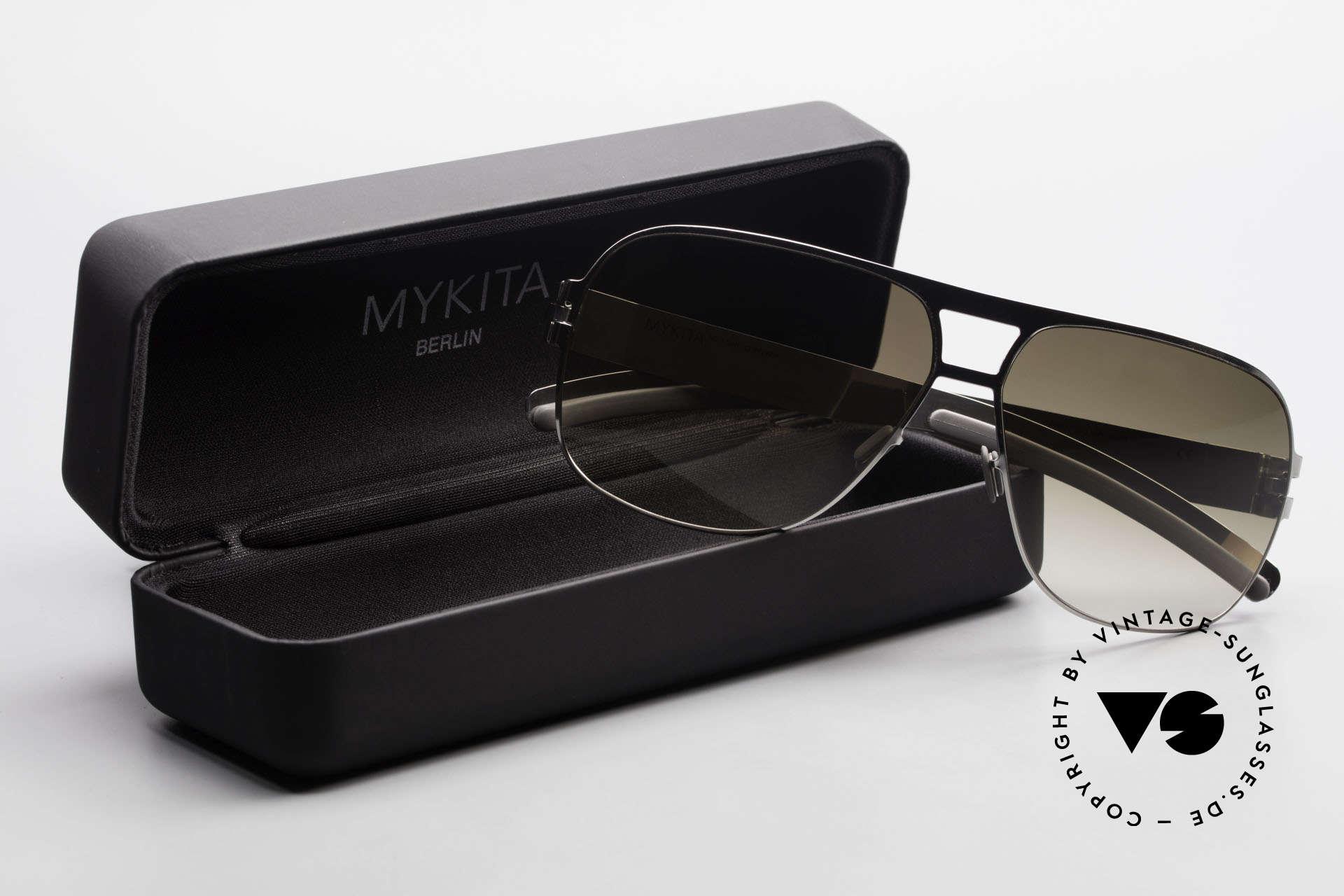 Mykita Clifford 2000er Vintage Aviator Brille, Größe: medium, Passend für Herren