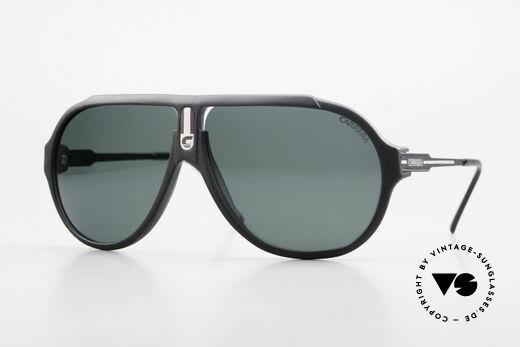 Carrera 5565 Alte 80er Vintage Sonnenbrille Details