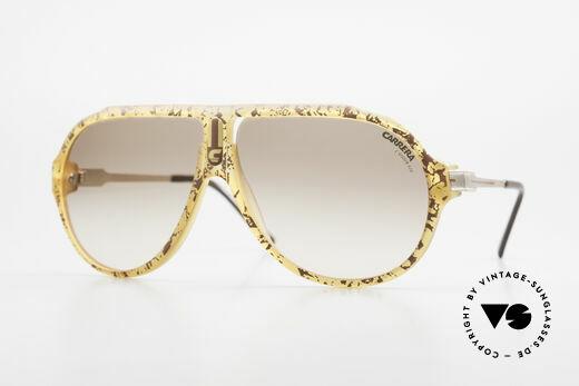 Carrera 5565 Alte 80er Sonnenbrille Vintage Details