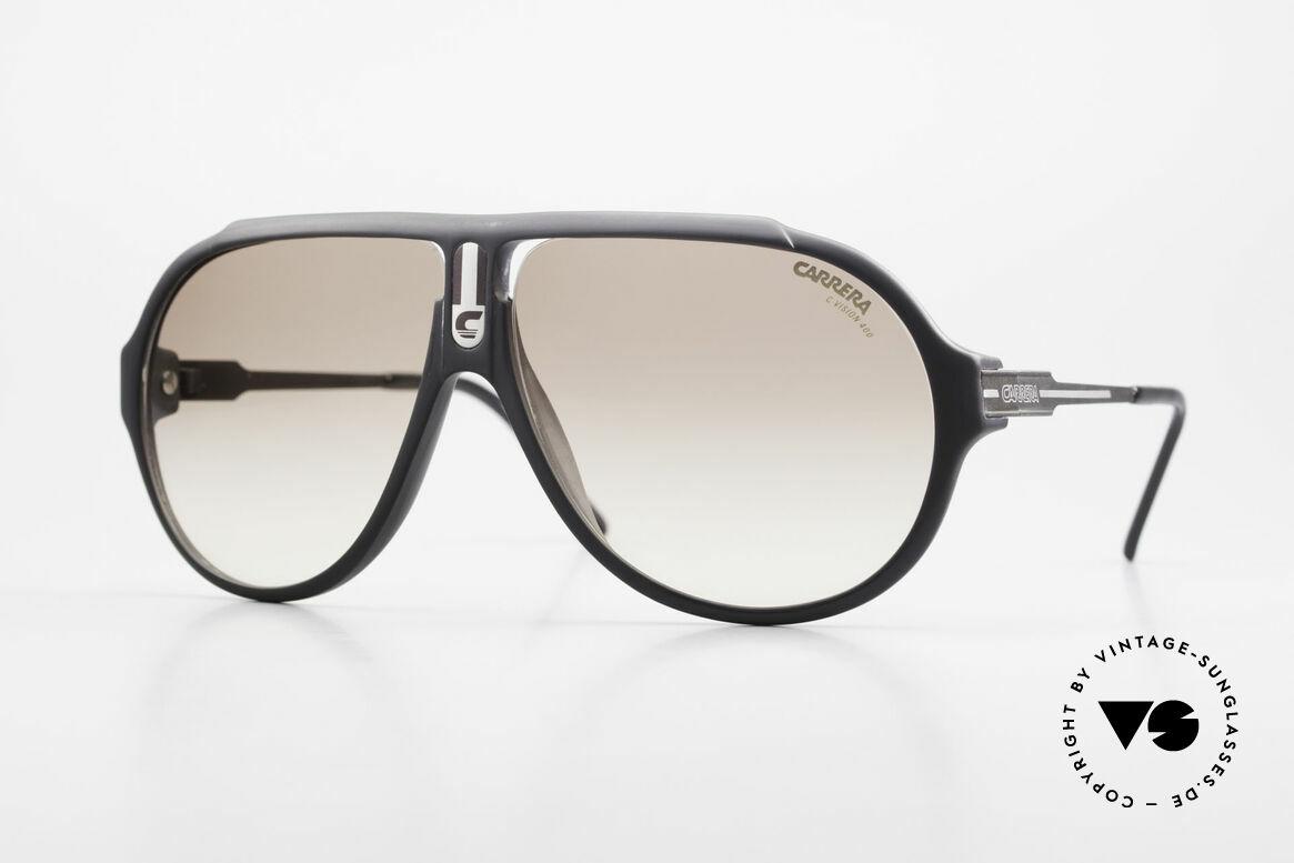 Carrera 5565 Alte Sonnenbrille 80er Vintage, Carrera 5565: ein absoluter Klassiker aus den 80ern, Passend für Herren und Damen