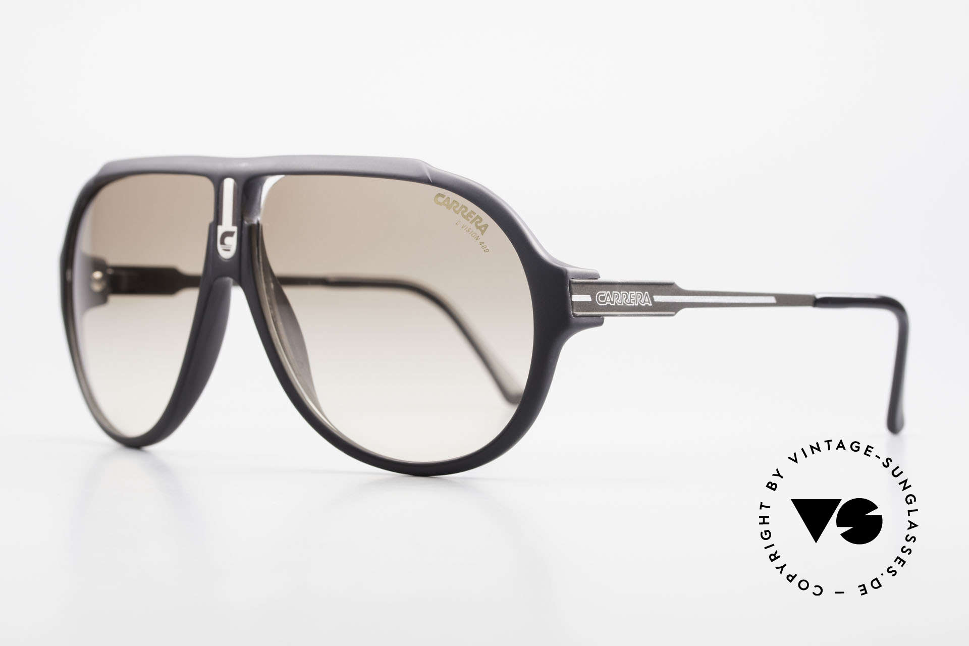 Carrera 5565 Alte Sonnenbrille 80er Vintage, langlebiges Optyl-Material (scheint nicht zu altern), Passend für Herren und Damen