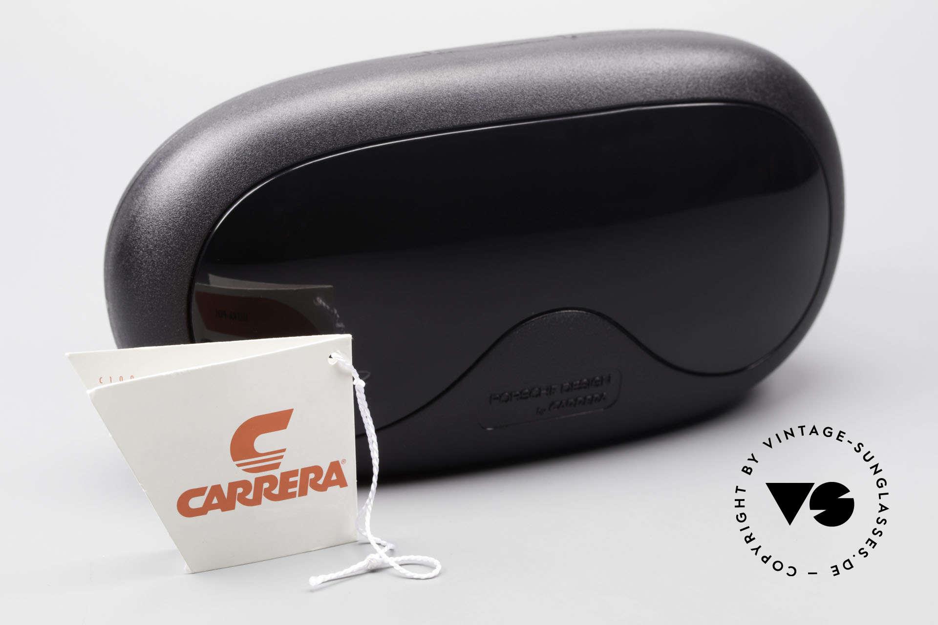 Carrera 5565 Alte Sonnenbrille 80er Vintage, schwarz mit Gläsern in braun Verlauf (100% UV prot.), Passend für Herren und Damen