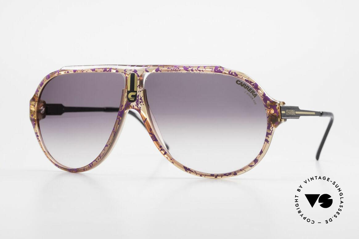 Carrera 5565 Alte Vintage 80er Sonnenbrille, Carrera 5565: ein absoluter Klassiker aus den 80ern, Passend für Herren und Damen
