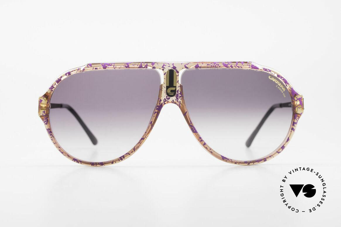 Carrera 5565 Alte Vintage 80er Sonnenbrille, sehr ähnlich dem berühmten Carrera Modell '5512', Passend für Herren und Damen