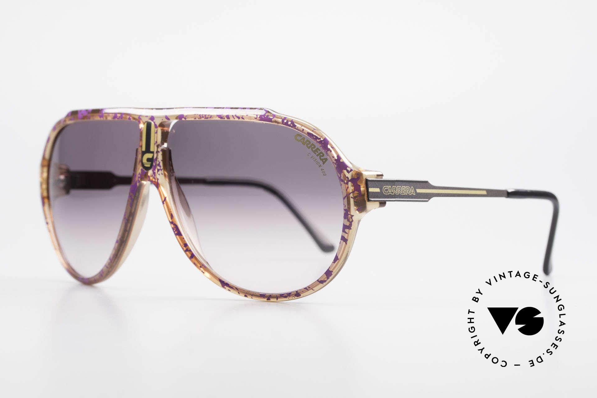 Carrera 5565 Alte Vintage 80er Sonnenbrille, mehr Qualität und Tragekomfort geht einfach nicht, Passend für Herren und Damen