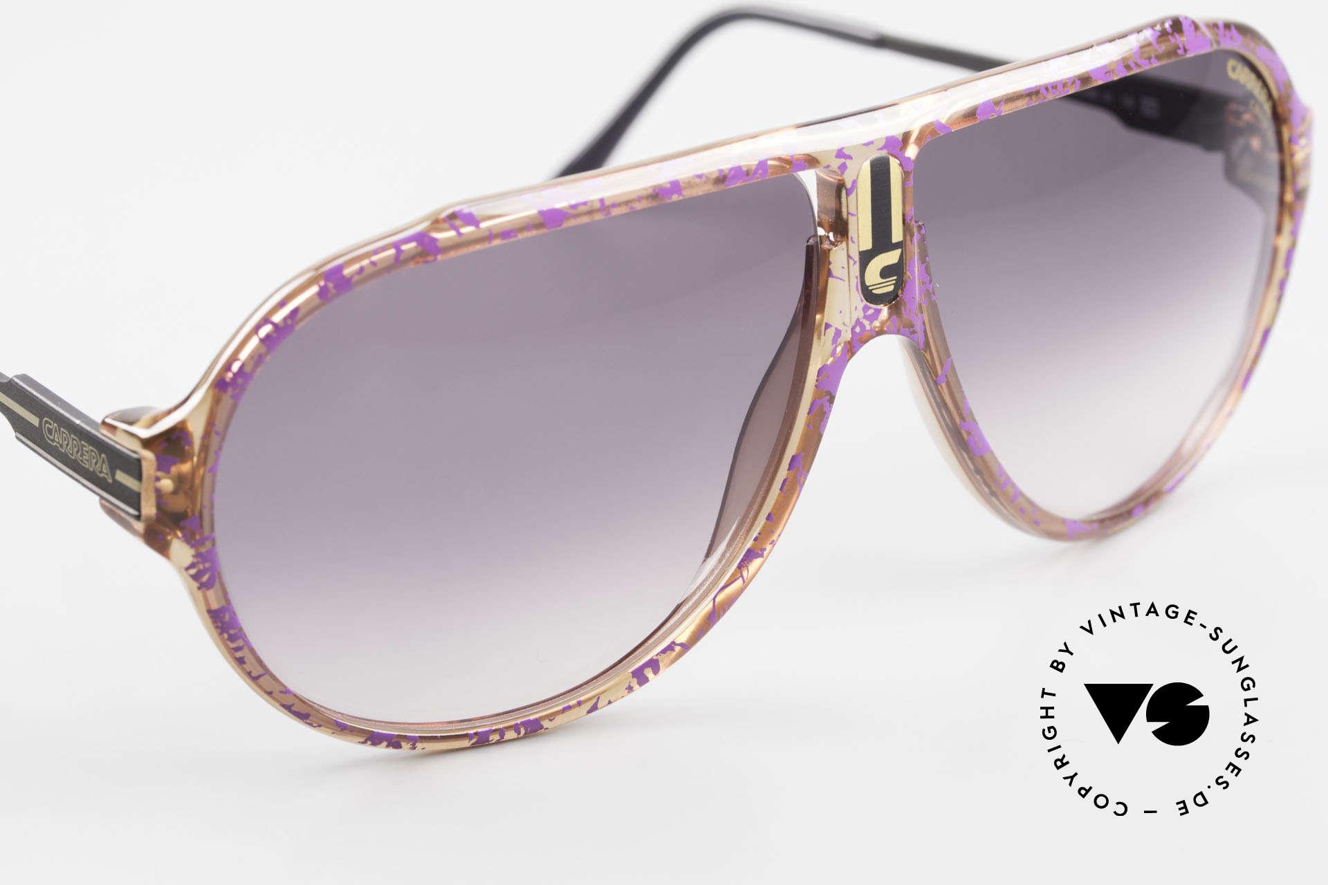 Carrera 5565 Alte Vintage 80er Sonnenbrille, KEINE Retro-Sonnenbrille; ein 35 J. altes ORIGINAL!, Passend für Herren und Damen