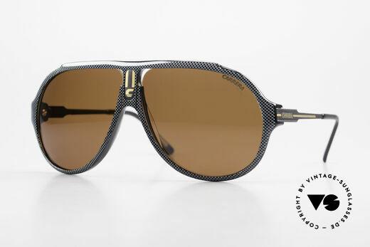 Carrera 5565 Alte Vintage Sonnenbrille 80er Details