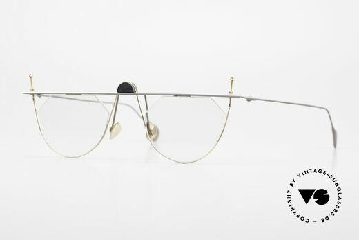 Paul Chiol 07 Randlose Kunstbrille Bauhaus Details