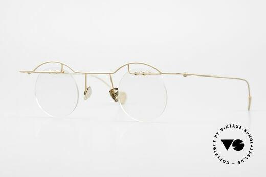 Paul Chiol 02 Rare Bauhaus Brille Randlos Details