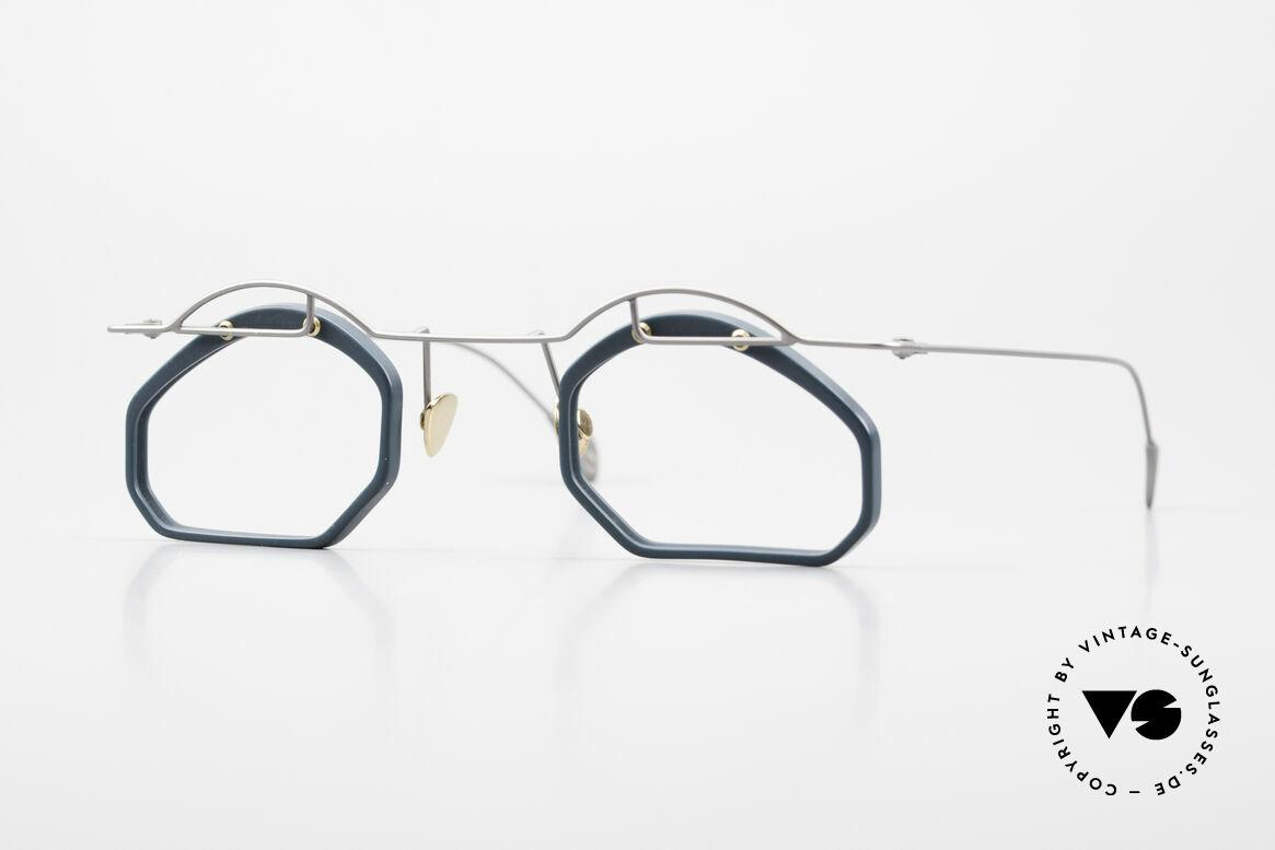 Paul Chiol 12 Kunstbrille Vintage Designer, vintage Paul Chiol Designer-Brille der frühen 90er, Passend für Herren und Damen