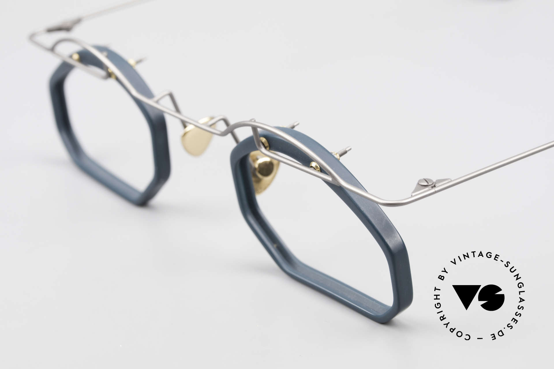 Paul Chiol 12 Kunstbrille Vintage Designer, ein ungetragenes Meisterstück; made in Germany, Passend für Herren und Damen
