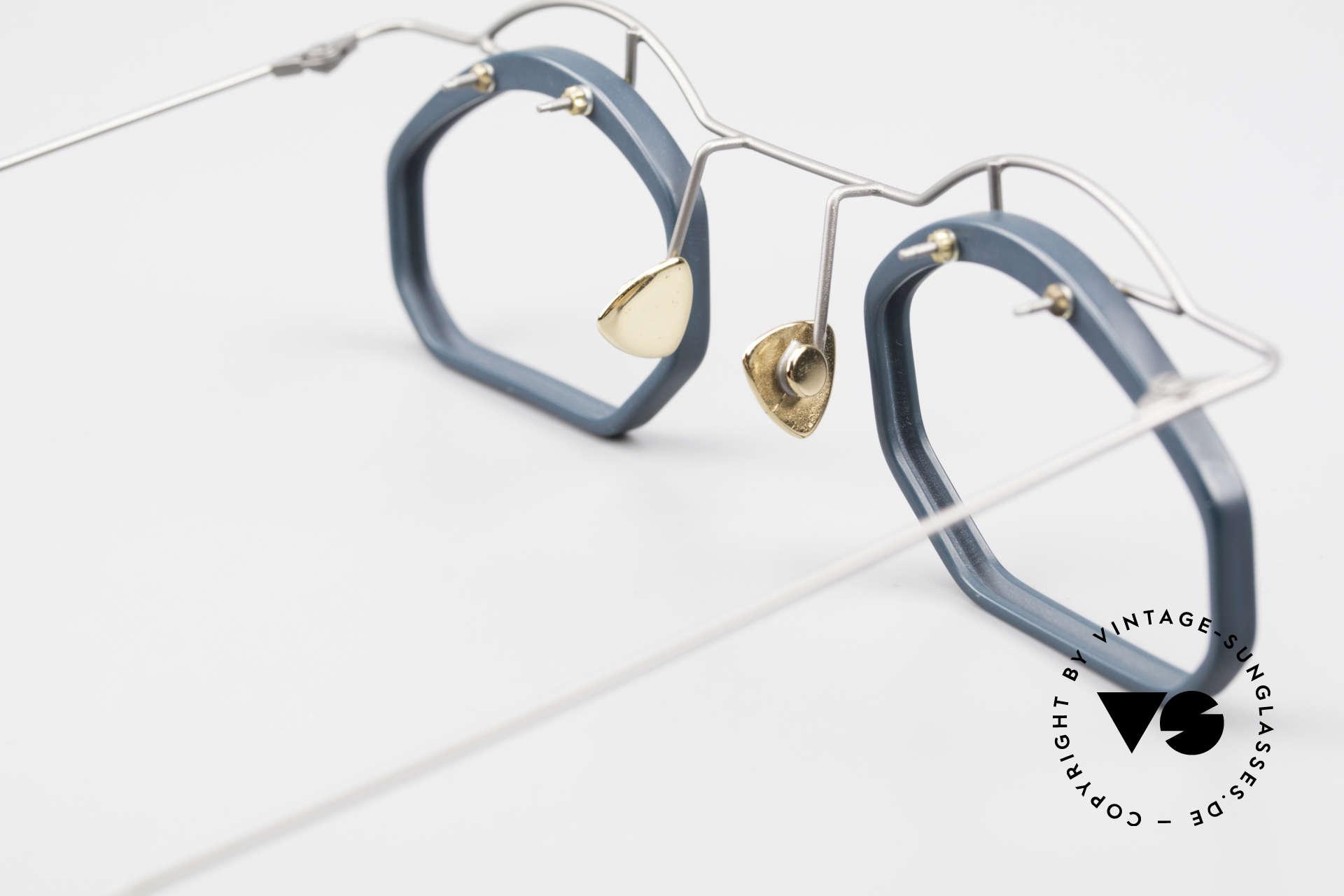 Paul Chiol 12 Kunstbrille Vintage Designer, Größe: small, Passend für Herren und Damen