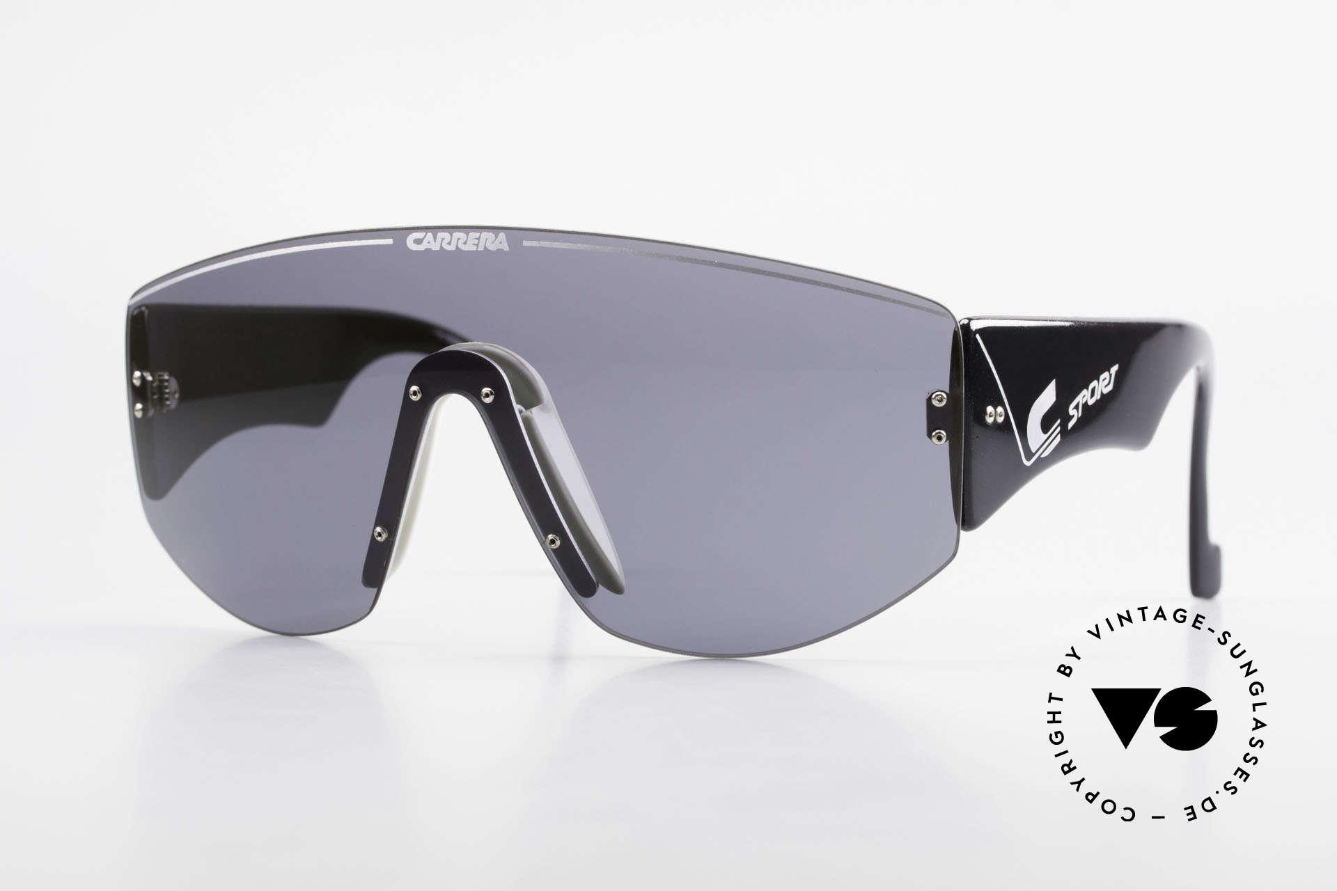 Carrera 5414 Rare Sport Sonnenbrille 90er, CARRERA Sportsonnenbrille aus den frühen 1990ern, Passend für Herren
