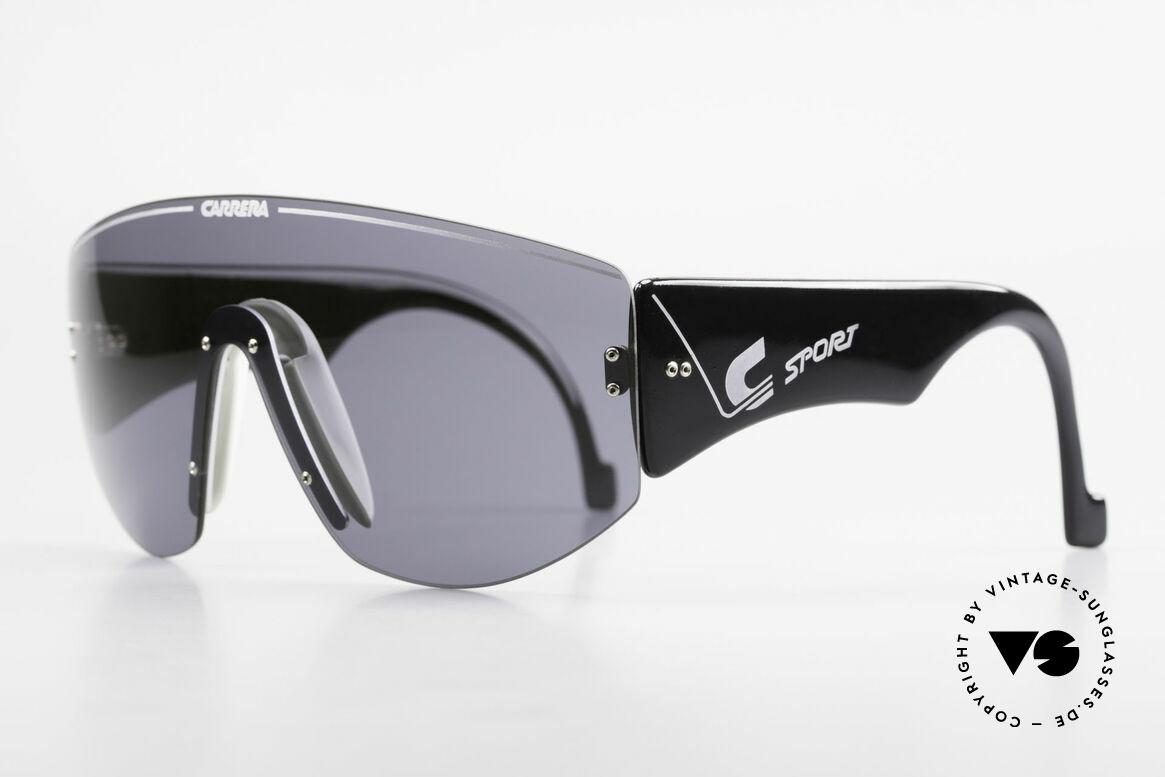 Carrera 5414 Rare Sport Sonnenbrille 90er, sowohl beim Sport als auch im Alltag tragbar + Etui, Passend für Herren