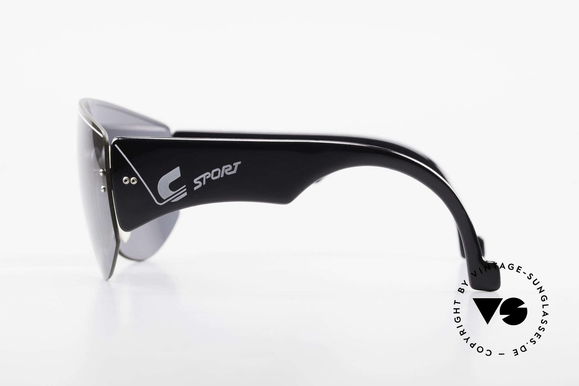 Carrera 5414 Rare Sport Sonnenbrille 90er, 100% UV Schutz (dank Panorama View und C80 lens), Passend für Herren