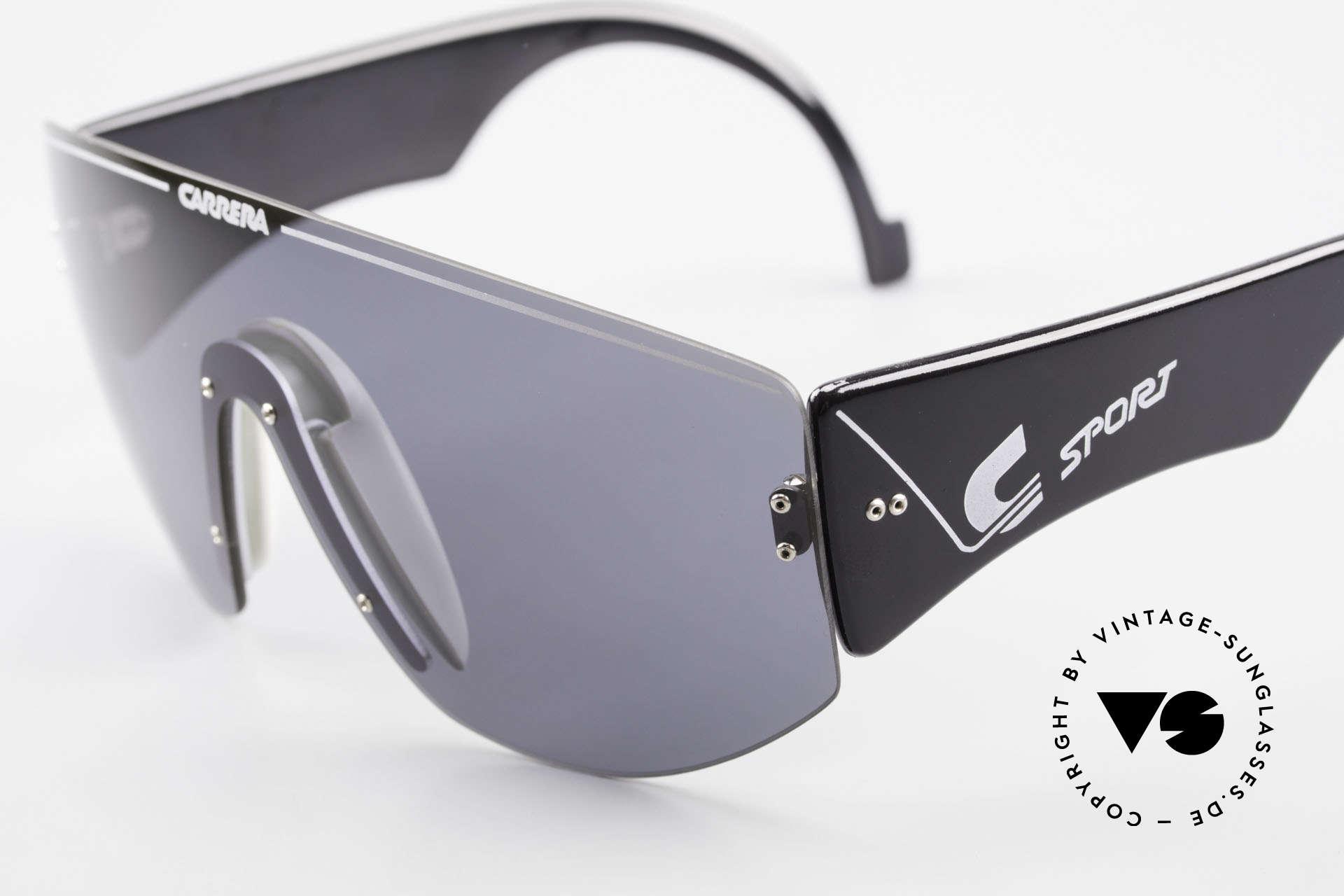 Carrera 5414 Rare Sport Sonnenbrille 90er, ungetragene Rarität (wie alle unsere Carrera SPORT), Passend für Herren