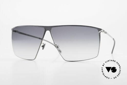 Mykita Amund Eckige Designer Sonnenbrille Details