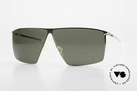 Mykita Amund 2010er Designer Sonnenbrille Details