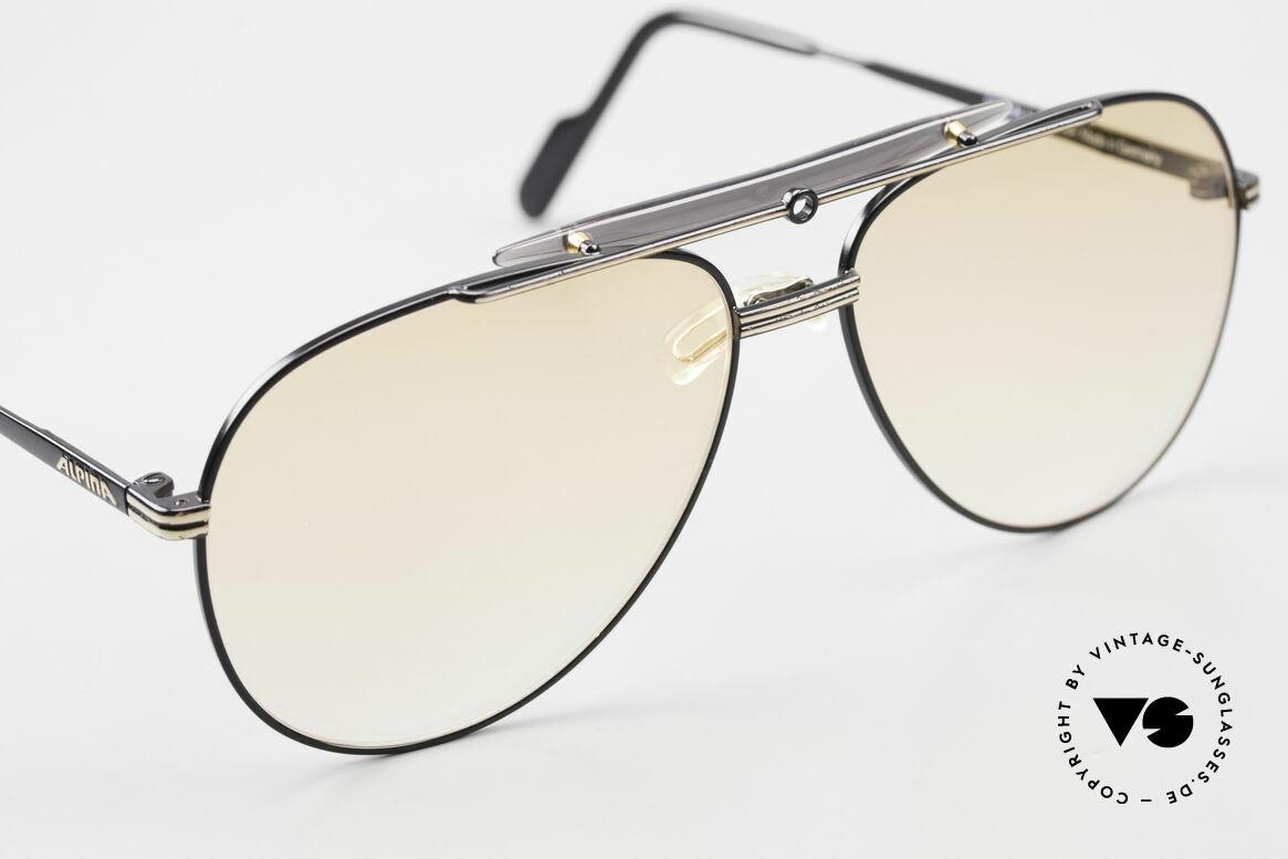 Alpina PCF 250 Sportliche 90er Aviator Brille, KEINE Retrobrille, sondern ein 90er ORIGINAL, Passend für Herren