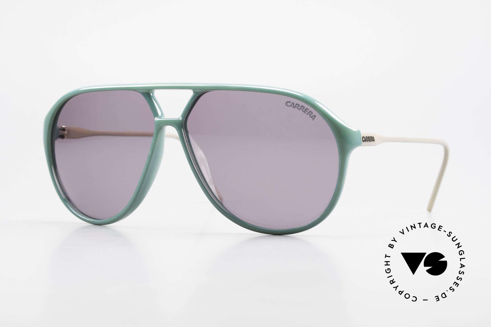 Carrera 5425 80er 90er Sport Lifestyle Brille, vintage Sonnenbrille der Carrera Kollektion 1989/1990, Passend für Herren
