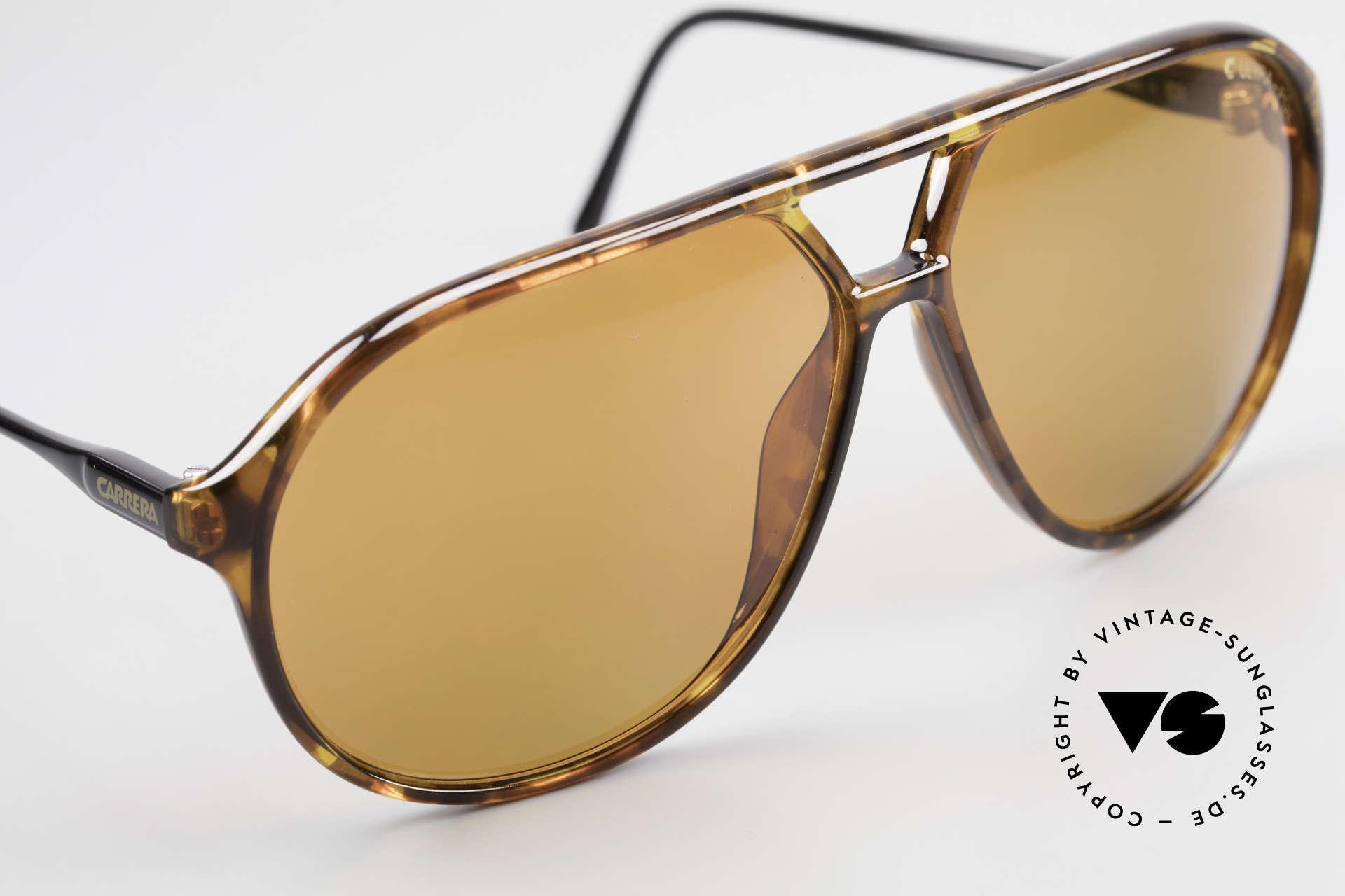 Carrera 5425 Sonnenbrille Polarisierend 80s, ungetragen (wie alle unsere alten Optyl Carrera Brillen), Passend für Herren