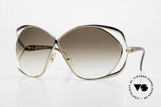 Christian Dior 2056 Butterfly 80er Sonnenbrille Details
