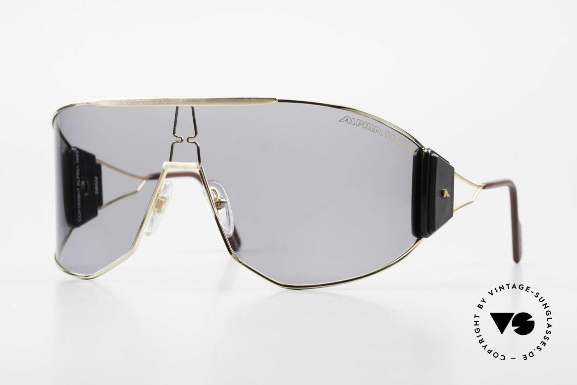 Alpina Goldwing 2nd hand Vintage Sonnenbrille, Goldwing - das meistgesuchte Alpina vintage Modell, Passend für Herren und Damen