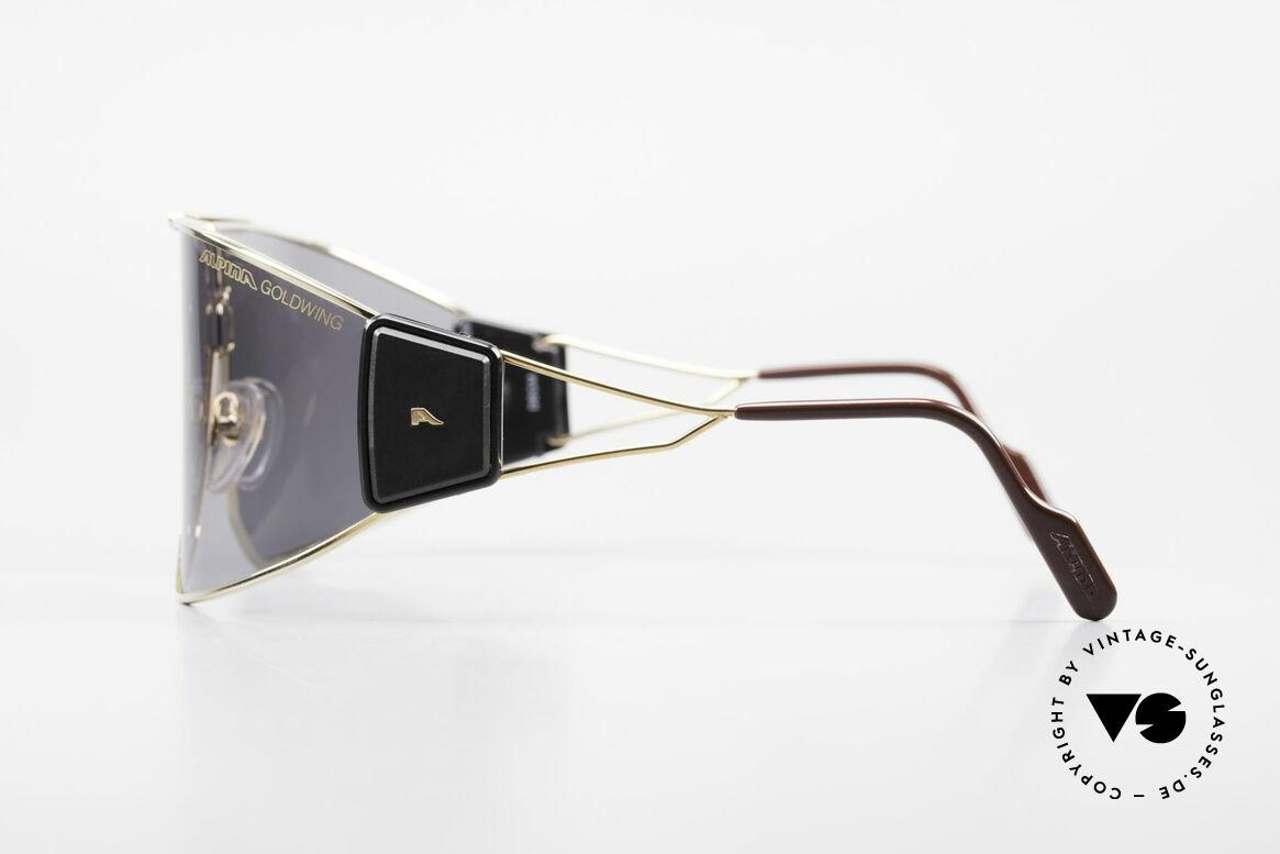 Alpina Goldwing 2nd hand Vintage Sonnenbrille, 2ND HAND MODELL in einem tollen vintage Zustand, Passend für Herren und Damen