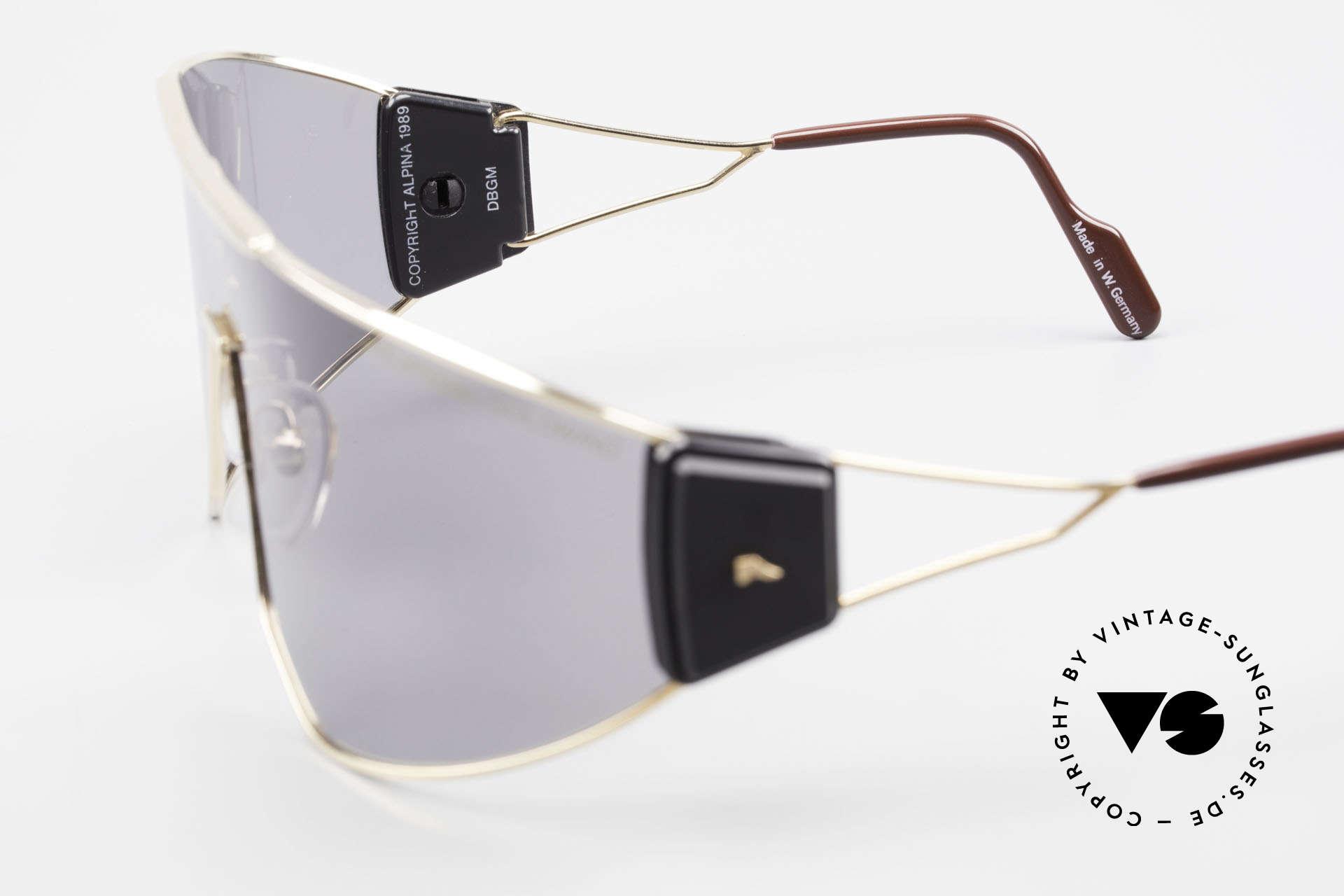 Alpina Goldwing 2nd hand Vintage Sonnenbrille, Größe: large, Passend für Herren und Damen