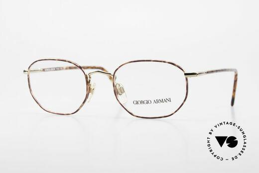 Giorgio Armani 187 Klassische 90er Herrenbrille Details