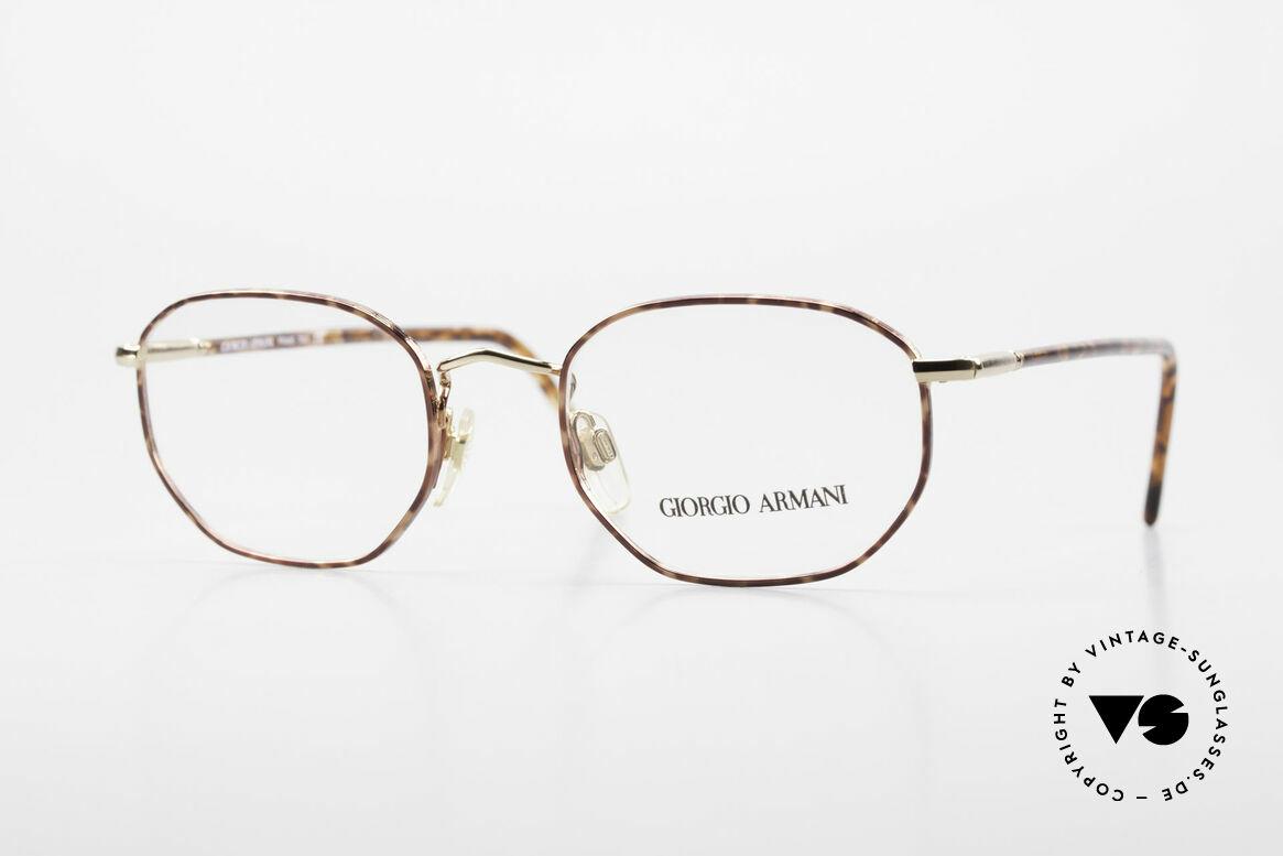 Giorgio Armani 187 Klassische 90er Herrenbrille, zeitlose vintage GIORGIO Armani Designer-Fassung, Passend für Herren