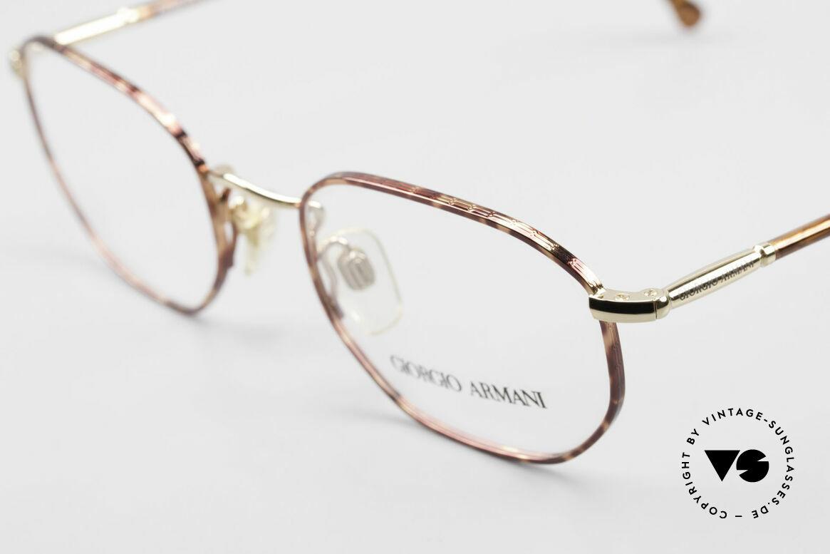 Giorgio Armani 187 Klassische 90er Herrenbrille, ungetragen; wie all unsere 90er Jahre Designklassiker, Passend für Herren