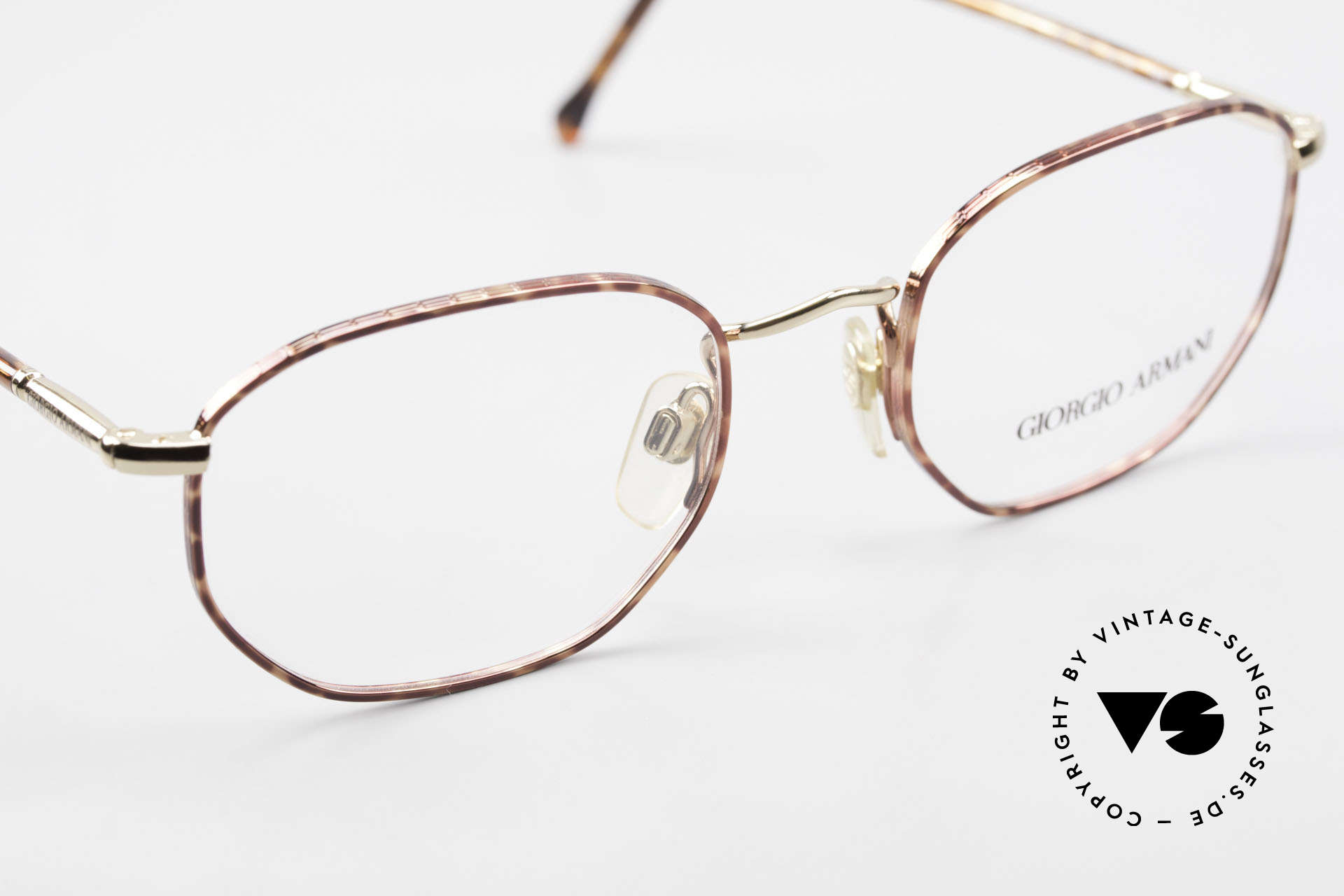 Giorgio Armani 187 Klassische 90er Herrenbrille, KEINE Retromode; sondern ein altes Armani-Original, Passend für Herren