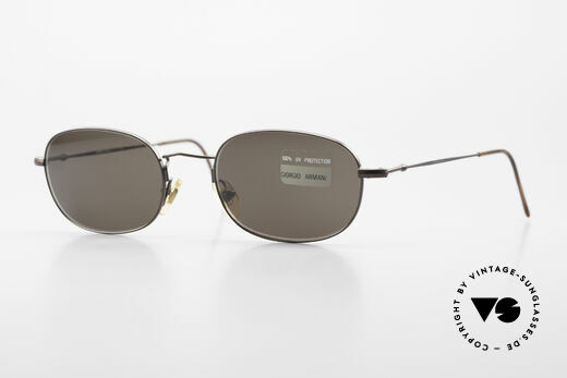 Giorgio Armani 234 Vintage Sonnenbrille 1980er Details