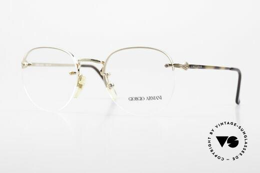 Giorgio Armani 161 Randlose Vintage Fassung 80er Details