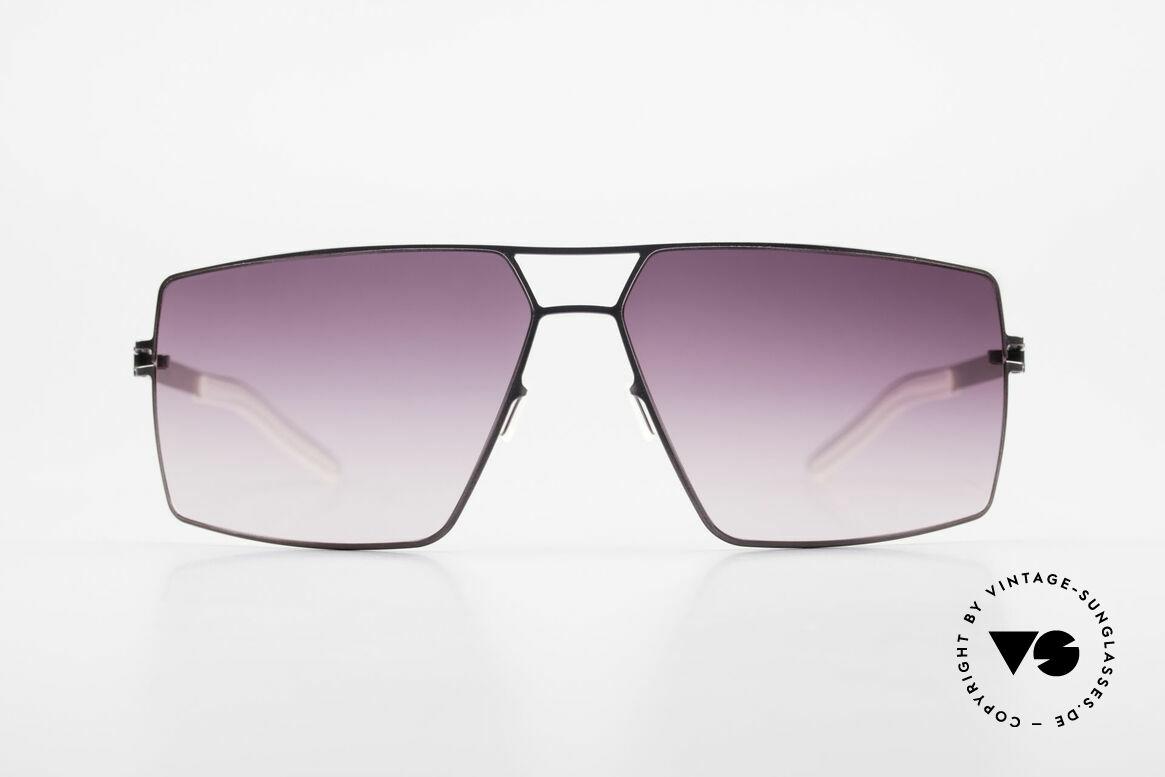 Mykita Viktor Designer Sonnenbrille Eckig, original VINTAGE Mykita Herren-Sonnenbrille von 2006, Passend für Herren