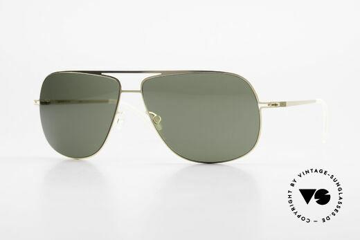 Mykita Jon Designer Metall Sonnenbrille Details