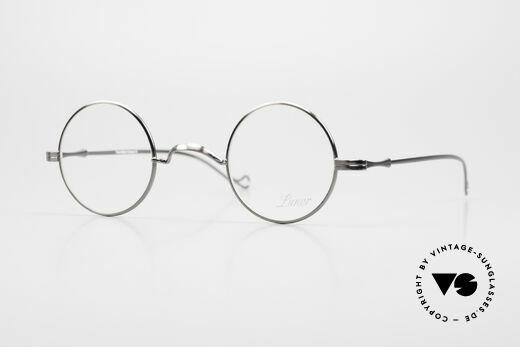 Lunor II 12 Kleine Runde Luxus Brille Details