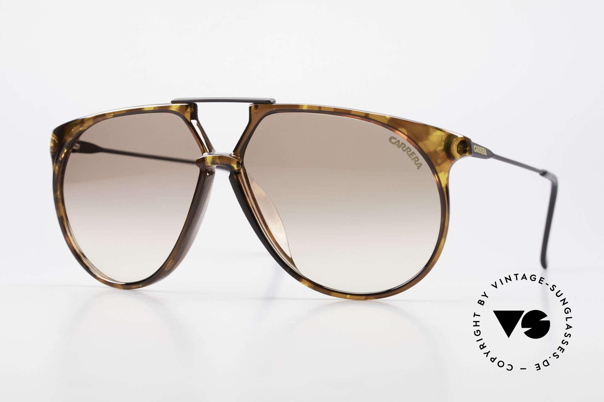 Carrera 5415 80s Sonnenbrille 2 Paar Gläser, vintage Carrera Sonnenbrille aus den 1980er Jahren, Passend für Herren
