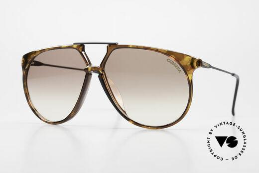 Carrera 5415 80s Sonnenbrille 2 Paar Gläser Details