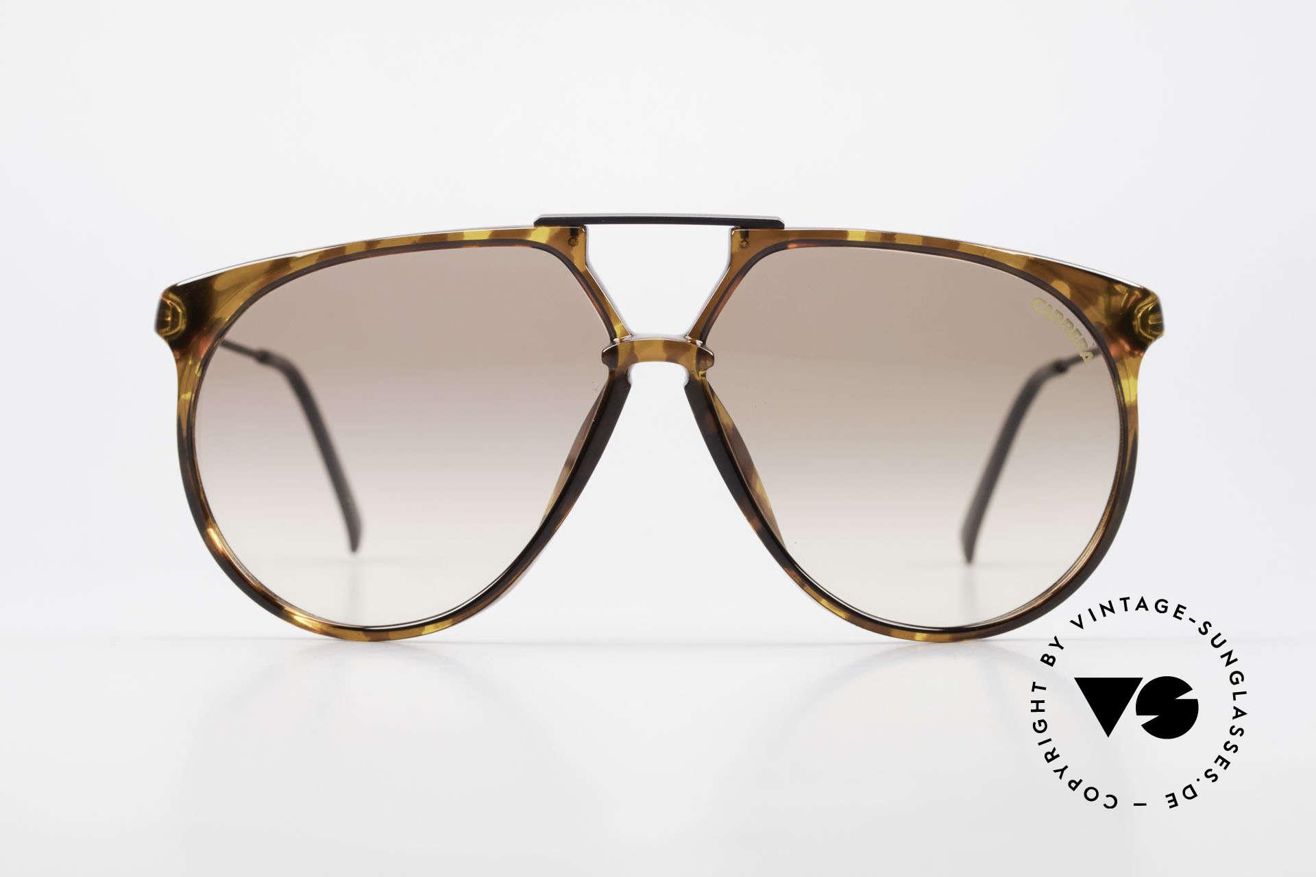 Carrera 5415 80s Sonnenbrille 2 Paar Gläser, langlebiges Optyl-Material (scheint nicht zu altern), Passend für Herren