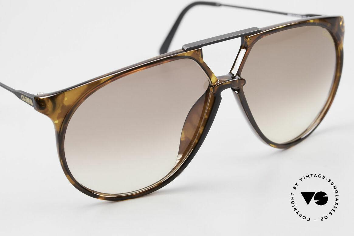Carrera 5415 80s Sonnenbrille 2 Paar Gläser, ungetragenes Einzelstück (inkl. Porsche Carrera Etui), Passend für Herren