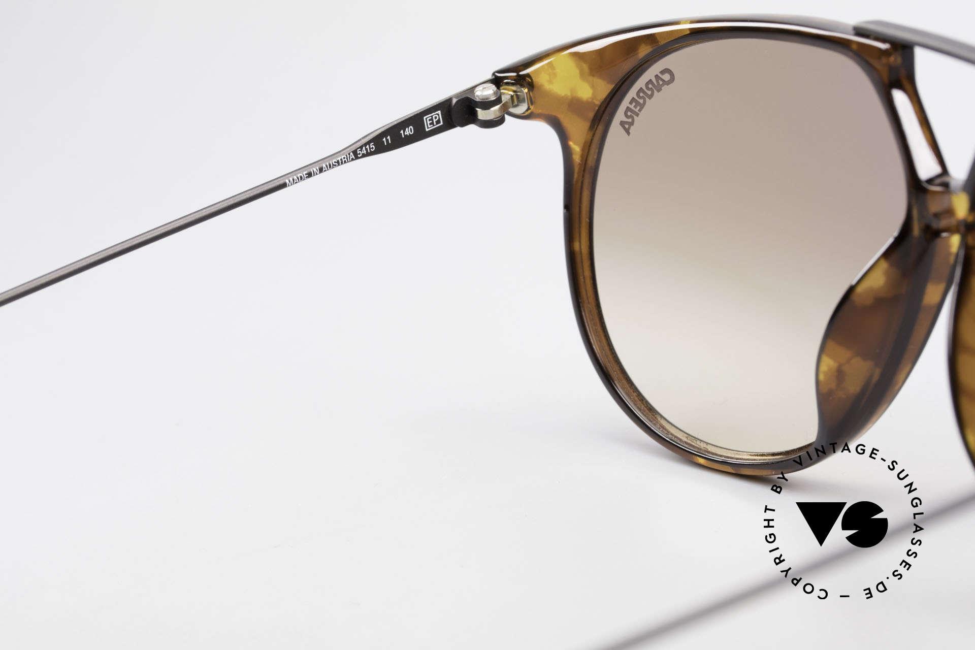 Carrera 5415 80s Sonnenbrille 2 Paar Gläser, KEINE RETROsonnenbrille; ein 30 Jahre altes Unikat!, Passend für Herren