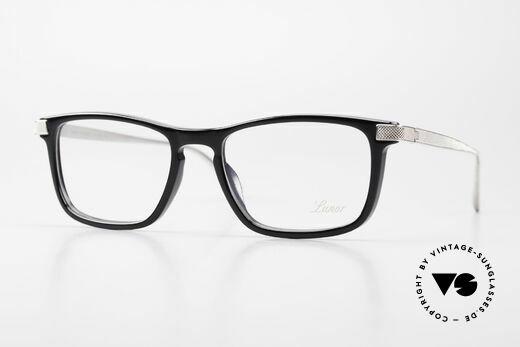 Lunor Imperial Anatomic Vintage Titanium Brille 2012 Details