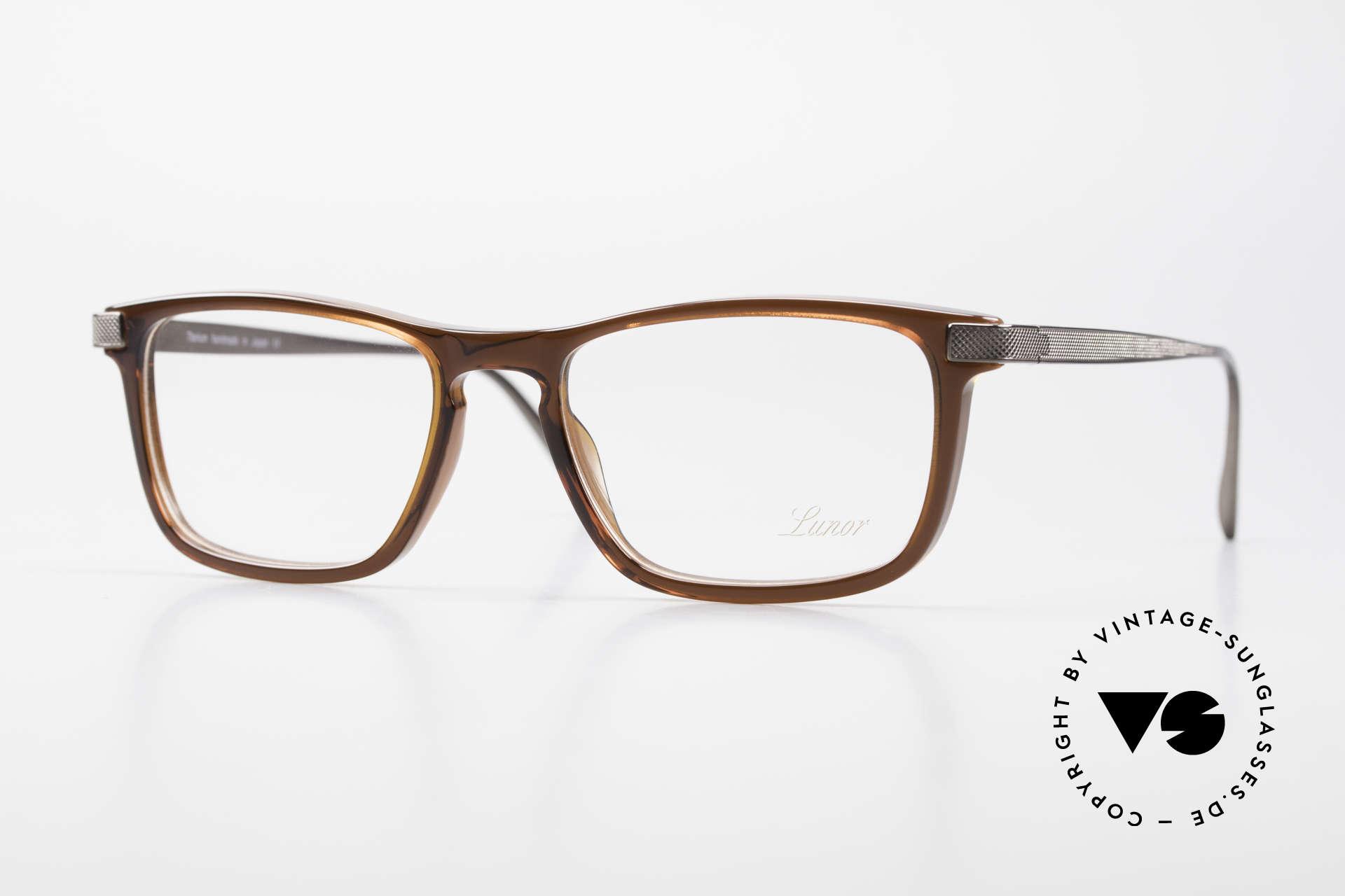 Lunor Imperial Anatomic Titanium Brille 2012 Unisex, Lunor Imperial Anatomic BR (braun) Brillenfassung, Passend für Herren und Damen