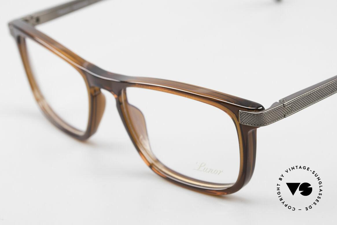 Lunor Imperial Anatomic Titanium Brille 2012 Unisex, Brillendesign in Anlehnung an frühere Jahrhunderte, Passend für Herren und Damen