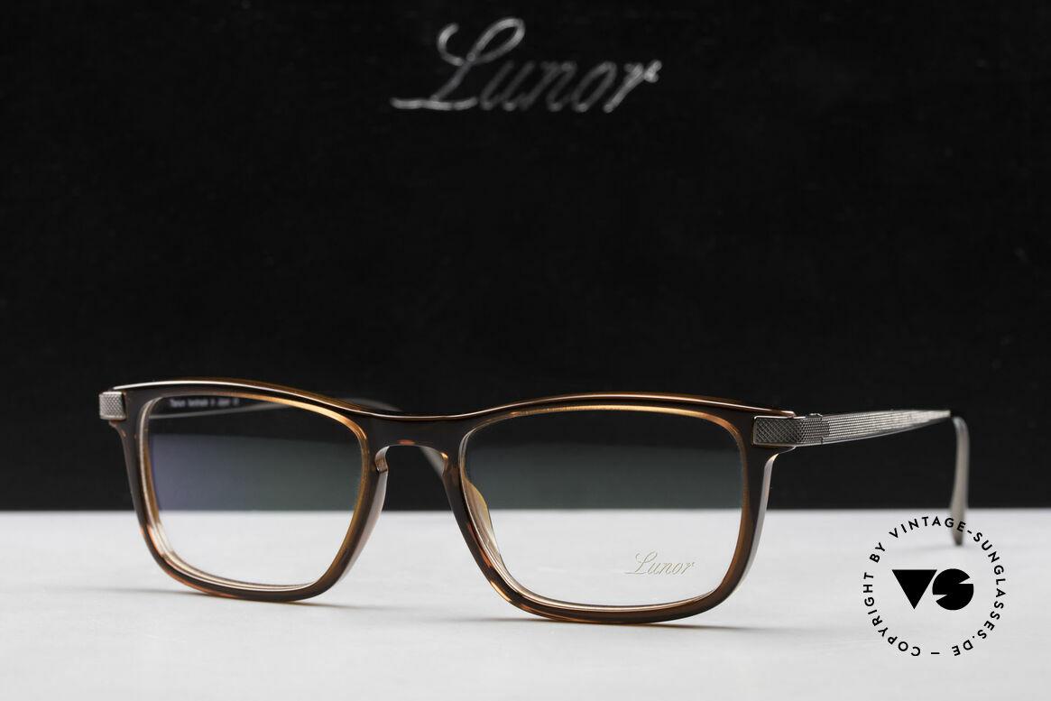 Lunor Imperial Anatomic Titanium Brille 2012 Unisex, Größe: medium, Passend für Herren und Damen