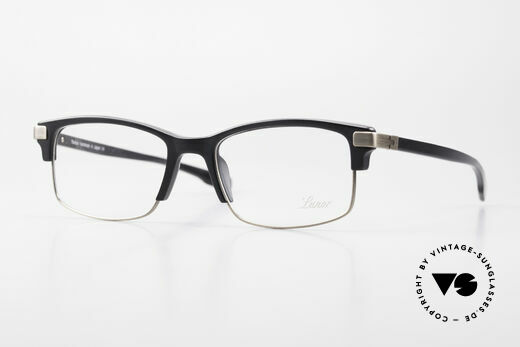 Lunor Combi V Mod 50 Designer Kombibrille Titanium Details