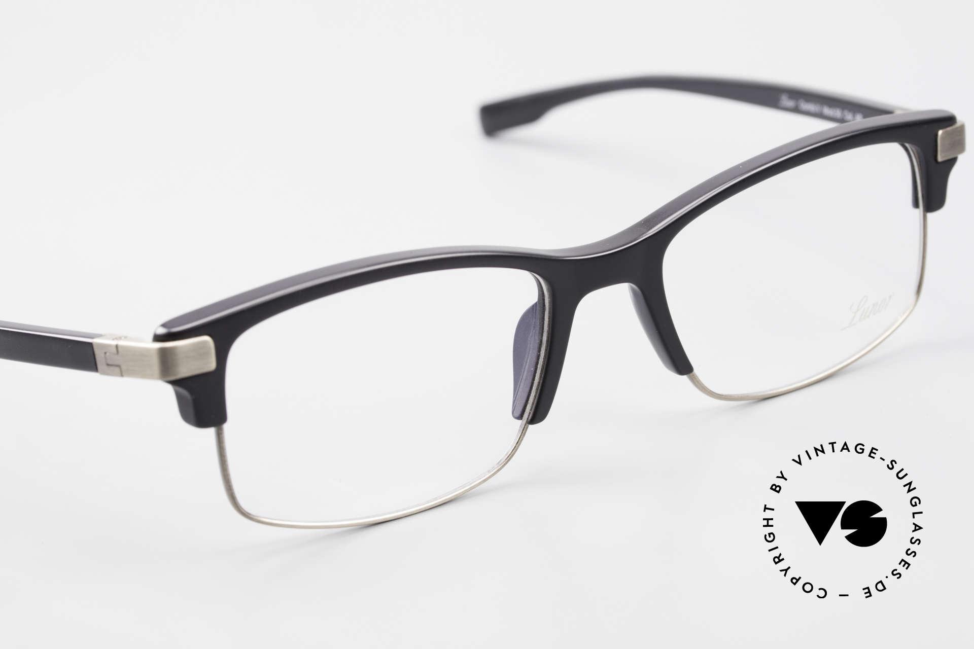 Lunor Combi V Mod 50 Designer Kombibrille Titanium, ungetragen (wie alle unsere Luxusbrille von LUNOR), Passend für Herren und Damen