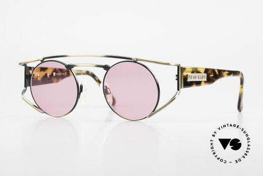Neostyle Superstar 1 Steampunk Sonnenbrille Pink Details